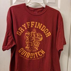 Gryffindor quidditch shirt